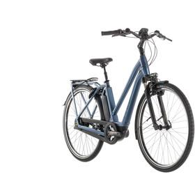 Cube Town Hybrid EXC 400 Bicicletta elettrica da città Trapez blu